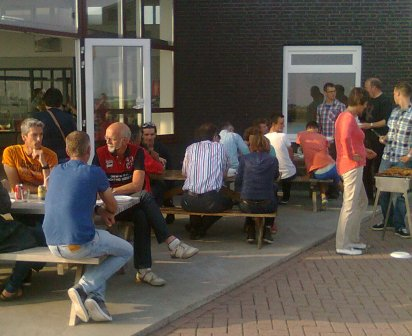 21 juni 2014 - barbecue wielervereniging