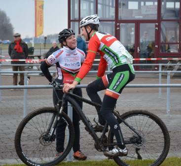 Koppelcross - Jeanine Laudy en Peter van Dijk