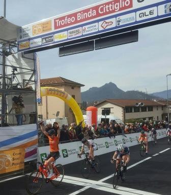 Piccolo Trofeo Binda - finish - sprint
