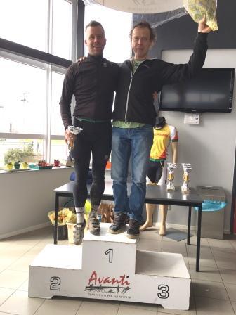 podium Duo's Cross-ATB-Cross - Johan Boerefijn en Jacco van 't Schip